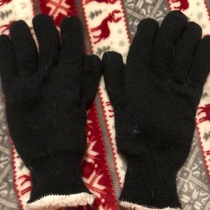 Woman's one size fits all gloves